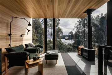 pumphouse point guest retreat jaws architects